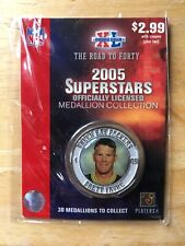 Brett Favre 2005 Superstars Collectors Medallion / Coin Unopened Packers NM/M