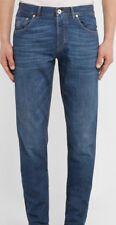 Brunello Cucinelli 100% Cotton Blue 5 Pocket  Denim Pants US 40 IT 56 NEW