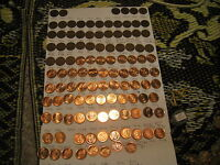 Canada 1920 To 2012 Pennies Collection With Many Rare Varieties Miss 1922 -1926.