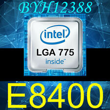 Intel Core 2 Duo E8400 3.00 GHz 6MB 1333MHz Socket LGA775 CPU Processor