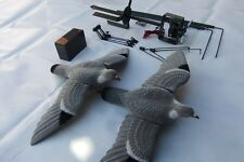 Pigeon Shooting Starter Kit Flocked Decoys Magnet Rotary 12v 7ah Battery Hunting