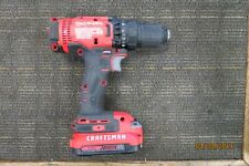 "CRAFTSMAN CMCD700 20V 1/2"" DRILL WITH CMCB202 BATTERY PACK"