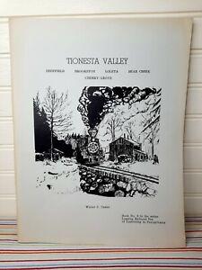 Logging Railroad Era Of Lumbering In PA Series # 8 Tionesta Valley 1973 Casler