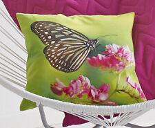 Proflax Kissenhülle Schmetterling Maigrün Größe 40x40 Cm