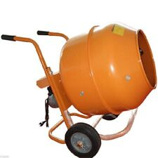 5 Cu Ft Horizontal Low Wheel Barrow Cement Mixer