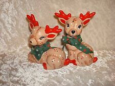 Reindeer Christmas Set Country Classics Whimsical