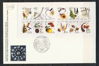 ISRAEL STAMPS 2002 CALENDAR MONTHS BOOKLET ON FDC VF