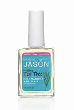 Jason purificante Tea Tree NAIL Saver 15ml-SPEDIZIONE GRATUITA IN UK-SENZA PARABENI