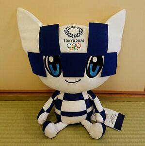 800511 Tokyo Olympics 2020 Mascot L Size 40cm Plush - Miraitowa Boy ~~ SALES ~~