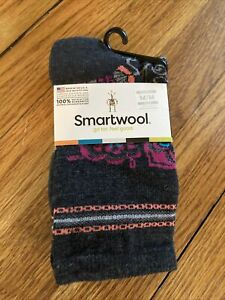 Smartwool Women's Crew Socks Medium Floral