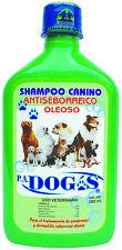 Shampoo Antiseborreico PA Dog's 380 ml  (2 frascos por paquete)