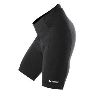 NIP DeMarchi Merino Wool Cycling Bike Shorts, Black, Medium TOP  QUALITY