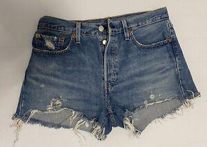Levi's 501, Shorts, Grösse 27, blau