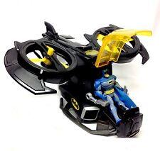 "Fisher Price IMAGINEXT 15"" Electronic BATJET w/sound  & BATMAN 5"" toy figure"