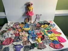 Mixed Lot of Handmade & Authentic Mattel Barbie Doll Clothes *lot (65+) No Doll
