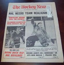 The Hockey News vol 20 no.11 December 17 1976 Guy Lafleur / Tony Esposito