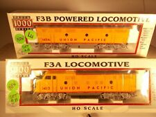 Proto 1000 HO Scale Union Pacific Set F3A-F3B (Both Powered) NEW