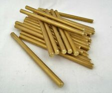 6mm x 100mm Brass Rod for Handle Making Knife Scales Pins Bushcraft