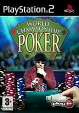 World Championship Poker PS2 PlayStation 2 Video Game Mint Condition UK Release