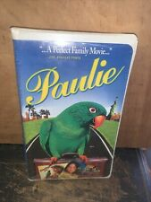 Paulie (VHS, 1998, Clamshell) Movie Sealed!