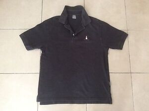 Hush Puppies   Classic Polo top   Black   Size M