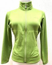Patagonia Women's Green Full Zip Polartec Activewear Jacket Sz S