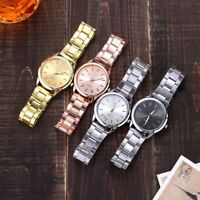 Women Men's Wrist Watch Stainless Steel Analog Quartz Dial Watches Wristwatch