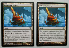 RELIQUARY TOWER x 2 - CONFLUX  - MTG - NM