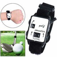 Mini Wristband Golf Stroke Score Counter Keeper Watch Putt Shot Portable Sc A2O0