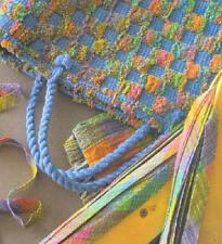 Weaver's Craft magazine #16: monk's belt, bias cloth strips, changing yarn sizes