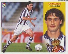GABILONDO # ESPANA REAL SOCIEDAD LIGA 2003 ESTE STICKER CROMO