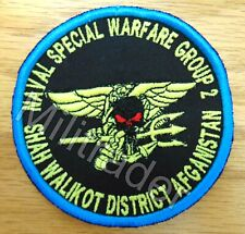 Us Naval Special Warfare Group Shah Walikot District Patch (Oef) Sew-on