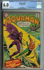 Aquaman #29 Cgc 6.0 Origin & 1St App Ocean Master 1/2 Brother Orm