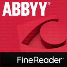 ABBYY FineReader 15, 14 or Pro - Standard or Corporate (Key - Serial Number)