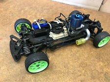 1/10 Scale Yokomo Gt 4WD R/C Nitro Touring Car For Parts As Is