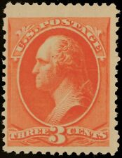 1887 US Scott# 214 Washington Vermillion - Mint OGph