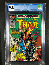 Thor #412 CGC 9.8 1st Appearance of New Warriors OW-W Pages Centered