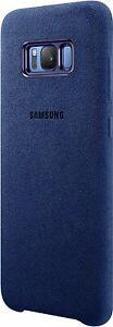"""Samsung EF-XG955ALEGWW Alcantara Cover (Samsung Galaxy S8+ PLUS) blau """"wie neu"""""""