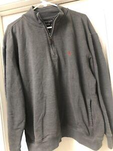 US Polo Assn 1/4 Zip Pullover. Mens XL- Grey, VERY GOOD CONDITION!
