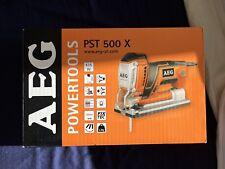 AEG Elektrowerkzeuge PST 500 X Stichsäge inkl. Sägeblatt, Absaugadapter & Tasche