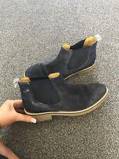 White Stuff Boots, Size 4, Winter, Navy Blue,