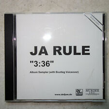 Ja Rule ‎– 3:36 - PROMO-Sampler With songs not the same with retail release MINT