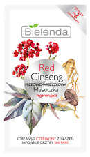 BIELENDA Red Ginseng ANTI-WRINKLE MASK REGENERATING