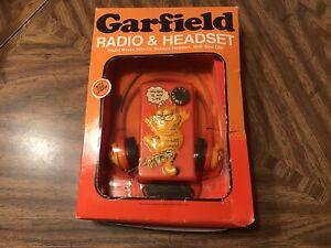 Vintage Gafield Radio & Headset