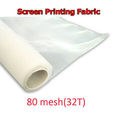 3 yards Screen Mesh Printing DIY Material 80M/ 32T White Color Width 50