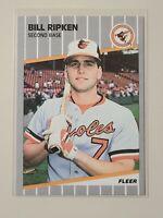 1989 Fleer Billy Bill Ripken Black Box card #616