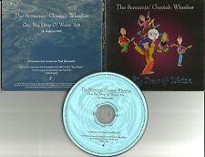 SCREAMIN CHEETAH WHEELIES One Big Drop of Water PROMO DJ CD single Screaming 99