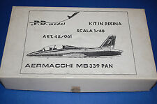 PD Model 48/61 - Aermacchi MB 339 PAN  scala 1/48