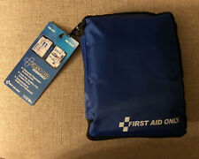 First Aid Only All-Purpose First Aid Essentials Kit, 299 Pieces, Blue Fabric