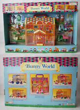 RARE VINTAGE 90'S BUNNY WORLD MINI FIGURES CONSTRUCTION PLAYSET CHINA NEW !
